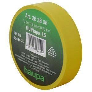 Insulating tape, 15mm, 10m, Yellow