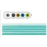 FLAT CABLE 5G2,5QMM FR/LSOH GREEN