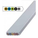 FLAT CABLE 5G16 FR/LSOH GREY