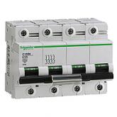 Миниатюрен автоматичен прекъсвач C120N, 4P, 125A, B, 20kA