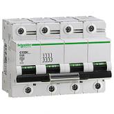 Миниатюрен автоматичен прекъсвач C120H, 4P, 100A, C, 30kA