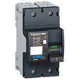 Миниатюрен автоматичен прекъсвач NG125H, 2P, 10A, C, 36kA