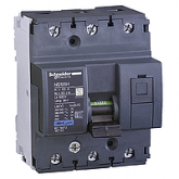 Миниатюрен автоматичен прекъсвач NG125H, 3P, 80A, C, 36kA