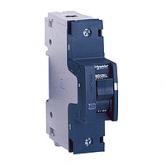 Миниатюрен автоматичен прекъсвач NG125L, 1P, 25A, D, 50kA