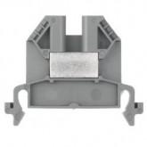 Проходна клема 9700 A / 6 S35, 4 mm², Сива