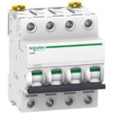 Миниатюрен автоматичен прекъсвач iC60L, 4P, 32A, B, 15kA