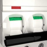 Миниатюрен автоматичен прекъсвач iC60H, 3P, 2 A, C, 10 kA