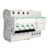 Миниатюрен автоматичен прекъсвач iC60H, 3P, 4 A, C, 10 kA