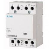 Modular Contactor Z-SCH230/40-40 (4 N/O) ,40 A,230VAC / 50Hz