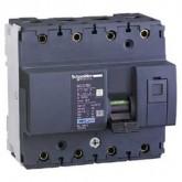 Миниатюрен автоматичен прекъсвач NG125N, 4P, 100A, D, 25kA