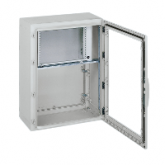 "19"" pivoting chassis 16U forPLA enclosure H1000xW750mm"""