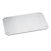 Metallic mounting plate for PLA enclosure H2000xW750mm