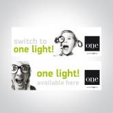 060016 STICKER SWITCH TO ONE LIGHT 30x9cm
