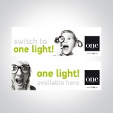 060018 STICKER ONE LIGHT AVAILABLE HERE 30x9cm