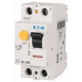 Дефектнотокова защита PF4, 2P, 40 A, 4.5 kA, 300 mA, AC