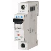 Миниатюрен автоматичен прекъсвач PL4, 1P, 20A, 4,5kA, C