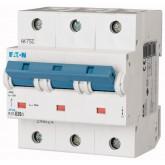 Миниатюрен автоматичен прекъсвач PLHT, 3P, 100A, 20kA, C