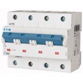 Миниатюрен автоматичен прекъсвач PLHT, 4P, 25A, 25kA, C