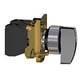 Превключвател с дълга дръжка (1 N/O) черен - ATEX