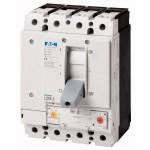 Автоматичен прекъсвач с лят корпус LZMB2, 4P, 25 kA, 160 A/100 A, Настройваема термична, Fixed моментна