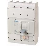 Molded case circuit-breaker LZMN4 4P, 50 kA, 800 A/500 A, Electronic
