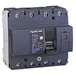 Миниатюрен автоматичен прекъсвач NG125H, 4P, 10A, C, 36kA