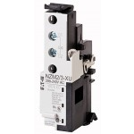 Минимално напреженов изключвател със спомагателни контакти с ранно сработване, 12 V DC