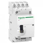 Модулен контактор iCT, ръчно управление 4 N/O, 24 V, 25 A