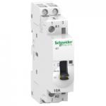 Модулен контактор iCT, ръчно управление 2 N/O, 230/240 V, 16 A