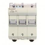 Държач за стопяем предпазител LV, 50 A, AC 690 V, 14 x 51 mm, 3P + Microswitch, IEC