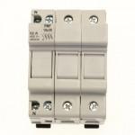 Държач за стопяем предпазител LV, 32 A, AC 690 V, 10 x 38 mm, UL, IEC, за монтаж на DIN шина