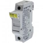 Държач за стопяем предпазител LV, 32 A, DC 1000 V, 10 x 38 mm, gPV, 1P, UL, IEC, за монтаж на DIN шина