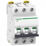 Миниатюрен автоматичен прекъсвач iK60N, 3P, 6A, C, 6kA