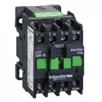 Контактор EasyPact TVS, 3P с (1 N/O) допълнителни контакти, 48V AC 50 Hz, 9A