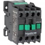 Контактор EasyPact TVS, 3P с (1 N/O) допълнителни контакти, 220V AC 60 Hz, 12A