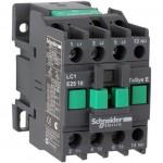 Контактор EasyPact TVS, 3P с (1 N/O) допълнителни контакти, 24V AC 60 Hz, 18A