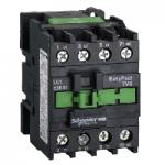 Контактор EasyPact TVS, 3P с (1 N/C) допълнителни контакти, 24V AC 50 Hz, 38A
