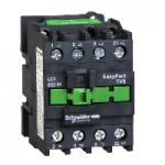 Контактор EasyPact TVS, 3P с (1 N/C) допълнителни контакти, 380V AC 50 Hz, 38A