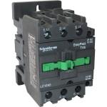 Контактор EasyPact TVS, 3P с (1 N/C+1 N/O) допълнителни контакти, 24V AC 50 Hz, 65A