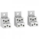 Алуминиеви накрайници за 6 кабела (комплект от 3 бр.)