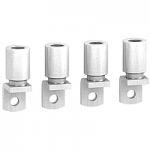 Накрайници за алуминиев кабел 150 mm² (комплект от 4 бр.)