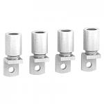 Накрайници за алуминиев кабел 185 mm² (комплект от 4 бр.)