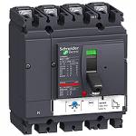 Автоматичен прекъсвач, лят корпус NSX100 Термо-магнитна защита, 100 A, 4P/3d, F
