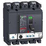 Автоматичен прекъсвач, лят корпус NSX160 Micrologic 2.2 (LSoI защита), 160 A, 4P, F