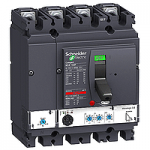 Автоматичен прекъсвач, лят корпус NSX160 Micrologic 2.2 (LSoI защита), 100 A, 4P, N