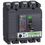 Автоматичен прекъсвач, лят корпус NSX160 Micrologic 5.2 A (LSI защита, амметър), 100 A, 4P, H