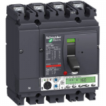Автоматичен прекъсвач, лят корпус NSX160 Micrologic 5.2 A (LSI защита, амметър), 160 A, 4P, F