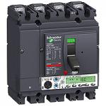 Автоматичен прекъсвач, лят корпус NSX160 Micrologic 5.2 A (LSI защита, амметър), 100 A, 4P, F
