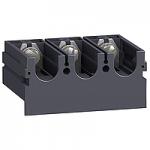 Удължители за клеми, доставят се с 2 (или 3) фазни сепаратора, разширител моноблок, 3P