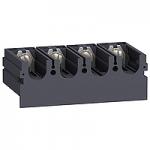 Удължители за клеми, доставят се с 2 (или 3) фазни сепаратора, разширител моноблок, 4P